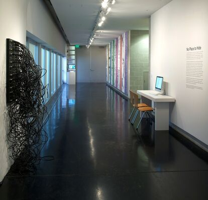 No Place to Hide, installation view