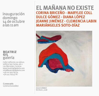 EL MAÑANA NO EXISTE, installation view