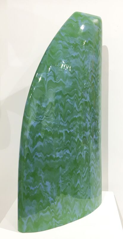 JamesMarshall, 'Blue/Green 229', 2007, Sculpture, Glazed Ceramic, Duane Reed Gallery