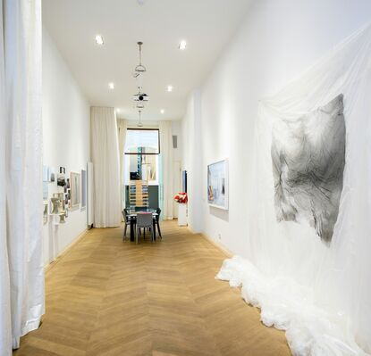 Young French Artists Remix (Photography), installation view