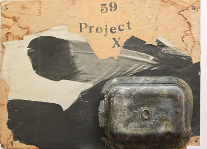 George Herms, 'Project', 1994