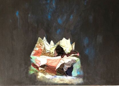 Melora Griffis, 'grief cave 2 (his)', 2018