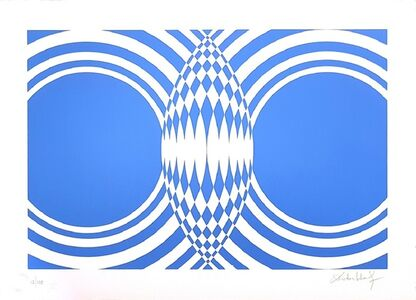 """Victor Debach, '""""Variations of Blue"""" SELECTION: three amazing pieces ON SALE', 1970s"""