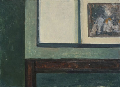 William Wright, 'Painter's Table II ', 2018