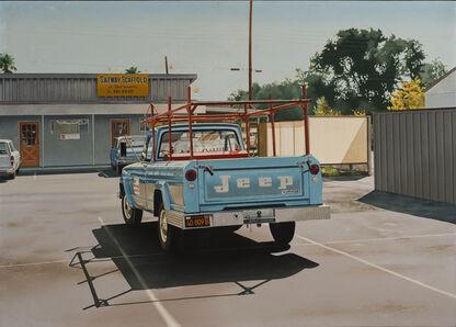 Ralph Goings, 'Jeep 40 809B (Safeway Jeep)', 1969
