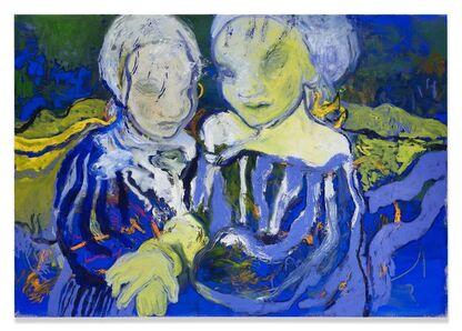 Rita Ackermann, 'You and I', 2019