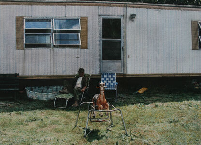 John Salt, 'Trailer with Rocking Horse', 1974-1975