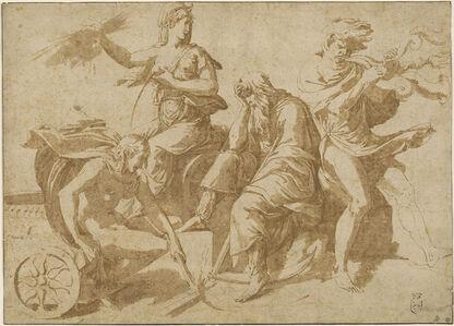 Giulio Romano, 'The Four Elements', ca. 1530