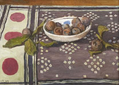 Vanessa Bell, 'Still-life with a Bowl of Medlars', 1953