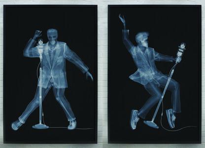 Nick Veasey, 'Elvis', 2015