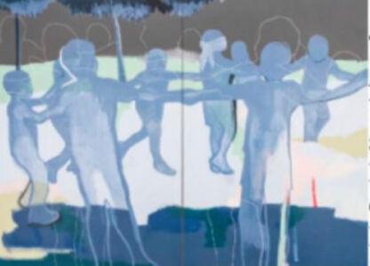 Anibal Vallejo, 'Blue Serene', 2020