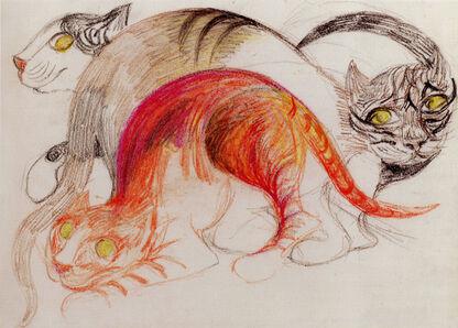 Erika Giovanna Klien, 'Cats'