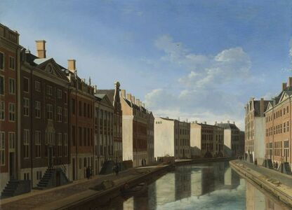 Gerrit Adriaensz. Berckheyde, 'The 'Golden Bend' in the Herengracht, Amsterdam', 1671 -1672