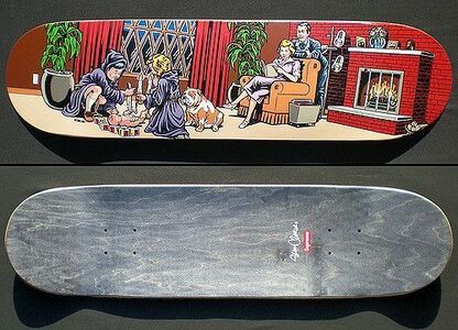 "Sean Cliver, 'SEAN CLIVER X SUPREME ""DICK & JANE"" SKATE DECK, RARE SHRINK WRAPPED LIMITED EDITION', 2008"