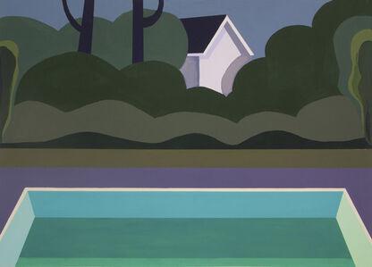 Monica Bernier, 'Night Pool V', 2018