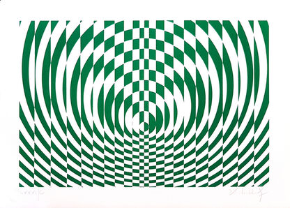 Victor Debach, 'Green Composition', 1970s