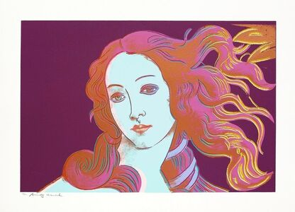 Andy Warhol, 'Details of Renaissance paintings (Sandro Botticelli, Birth of Venus 1482)', 1984