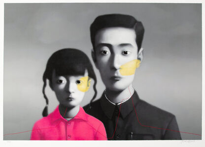 Zhang Xiaogang, 'Big Family', 2007