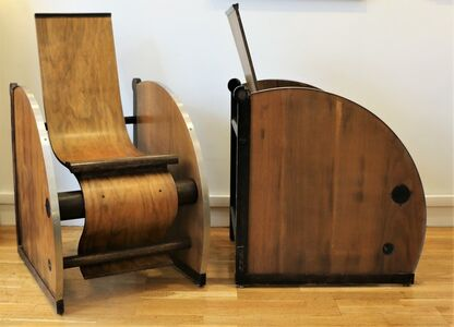 Artists Anonymous, 'Pair of modernist armchairs', ca. 1927