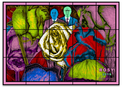 Gilbert and George, 'ROSY', 2019