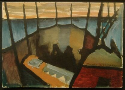 Blanche Lazzell, 'Fishing Weirs, Provincetown', 1933