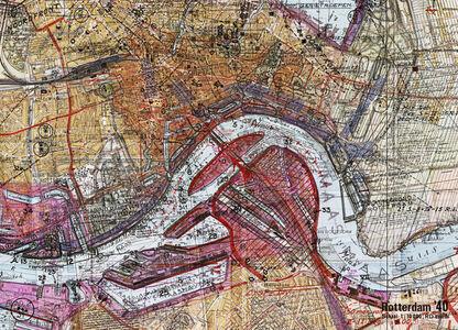 Gert Jan Kocken, 'Depictions of Rotterdam 1940-1945 (Close-up)', 2010-2019