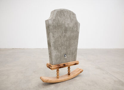 Raul de Lara, 'Inflatable Tombstone / Ghost Of Pepe', 2019