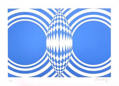 Victor Debach, 'Blue Composition', 1970s