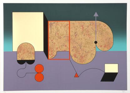 Manuel Felguérez Barra, 'untitled', ca. 1970