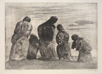 Svend Wiig Hansen, 'De Soegende (The Searchers)', 1958