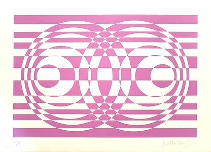 Victor Debach, 'Purple Composition', 1970s