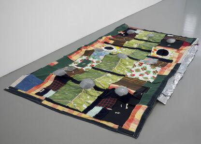 Em Rooney, 'Study for RJ's quilt (after Eva Hesse)', 2019