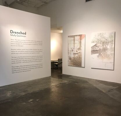 Drenched, installation view