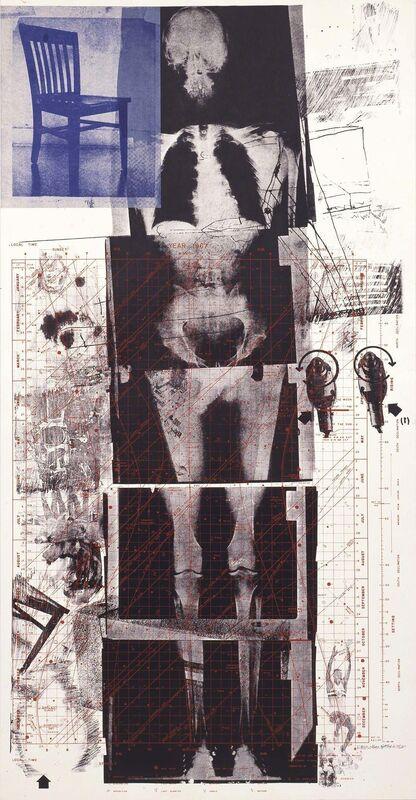 Robert Rauschenberg, 'Booster', 1967, Print, Lithograph and screenprint on paper, Robert Rauschenberg Foundation