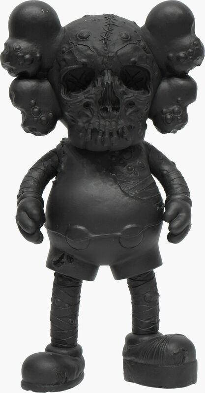 KAWS, 'KAWS X PUSHEAD COMPANION BLACK', 2006, Sculpture, Painted Cast Vinyl, Marcel Katz Art