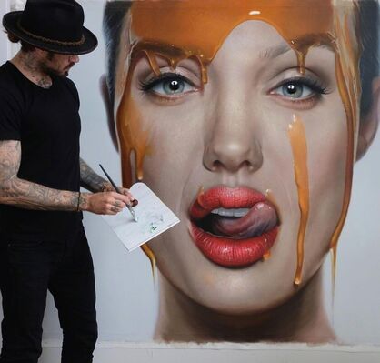 Healing Beauty by Mike Dargas at Art Angels, installation view