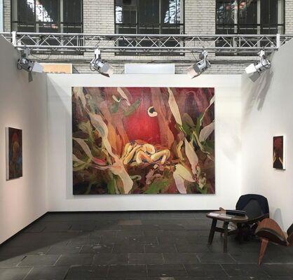 Galerie Zink at art berlin 2018, installation view