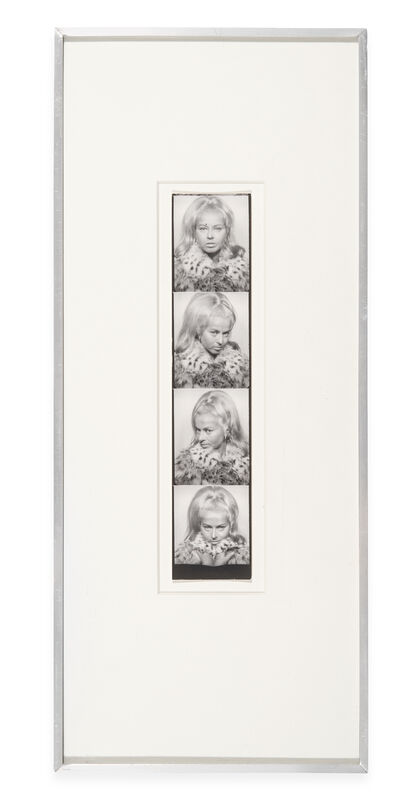 Andy Warhol, 'Untitled (Holly Solomon)', 1963-1964, Photography, Photo-booth strip (unique), The Mayor Gallery
