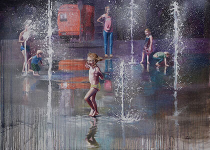 Cveta Markova, 'Trick Fountains III', 2019