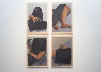Richard Streitmatter-Tran, 'Configurations in Black (After Nguyễn Phan Chánh) ', 2017