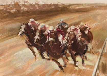 John Rattenbury Skeaping, 'Racing', 1964