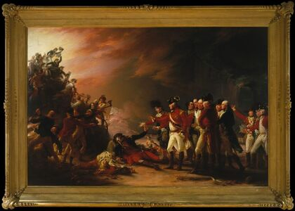 John Trumbull, 'The Sortie Made by the Garrison of Gibraltar', 1789