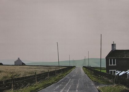 Peter Brook, 'October - The Pennine Road', 1978