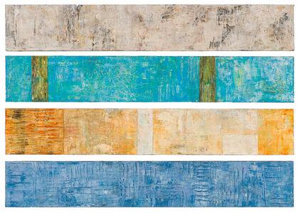 Hilario Gutierrez, 'Quiet Fields (quadriptych)', 20th/21st Century