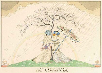 Georges Barbier, 'L'arc-en-ciel', 1920