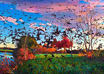 Charles Basham, 'SWARM', 2013