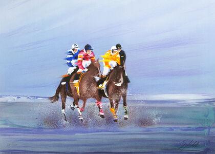 Victor Spahn, 'Training on the beach', 2007