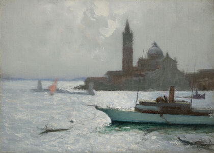 Charles Hoffbauer, 'The Lagoon, Venice'