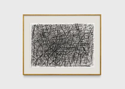 Milton Machado, 'Desenho muito escuro com rabo muito comprido [Very dark drawing with a very long tail]', 2019
