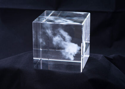 Miya Ando, 'Kumo (Cloud) for The Glass House (Shizen) Nature Series', 2016